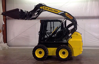 Application on New Holland Skid Steer